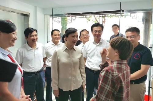 王文序调研杭州市下城区社区治理工作图片