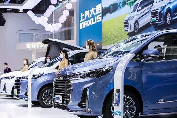 上汽大通MAXUS EUNIQ 7氢燃料电池MPV