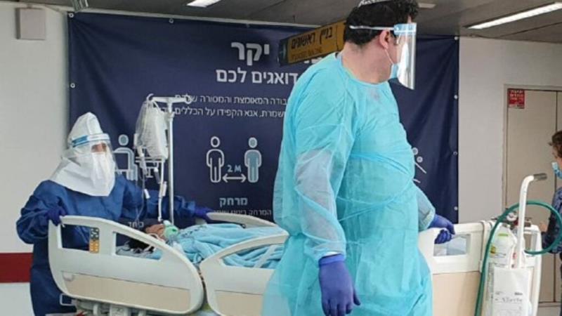 以色列新增8687例确诊病例 累计确诊226586例