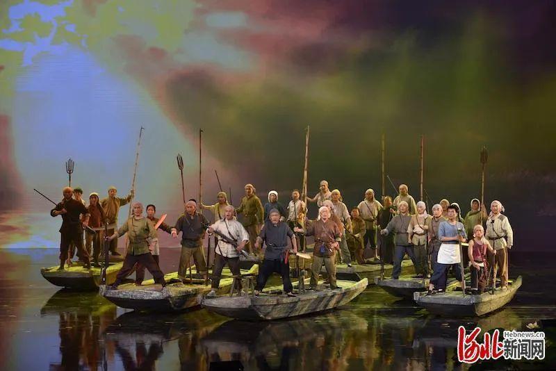 快看!大型民族歌剧《雁翎队》 震撼首演图片