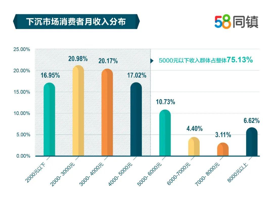 58同镇:2020年中国下沉市场快消品洞察报告
