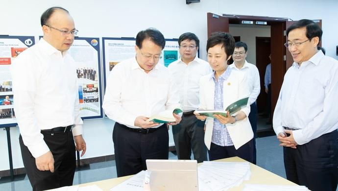 """上海市长称复旦大学为""""上海的金名片"""",希翼在这些方面创造更多一流图片"""