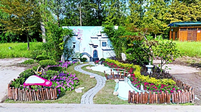 展示美好生活让市民游客了解花博会 12座大型立体绿雕亮相崇明生态岛图片