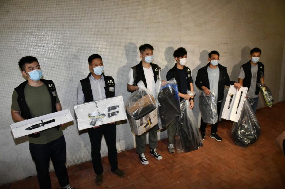 香港黑暴希图中秋夜袭警 各界号令法律部分备案查询拜访