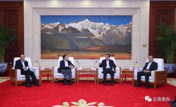 省政府与中国建设银行签署合作协议 陈豪阮成发会见田国立一行