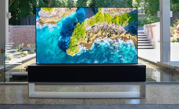 LG可卷曲OLED电视开启预订:售价可能高达1亿韩元