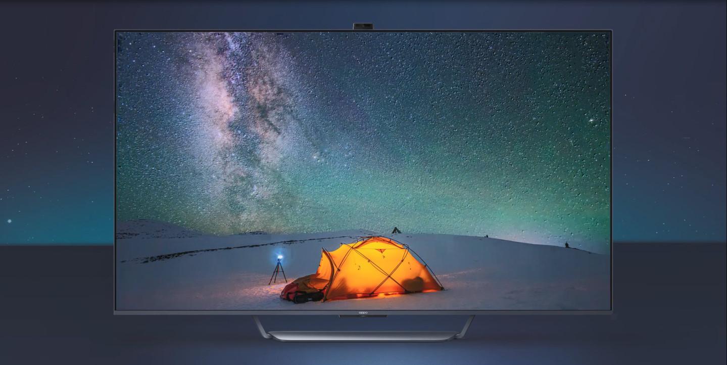 OPPO 智能电视真容揭晓:摄像头瞩目