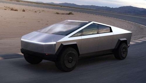 特斯拉弗里蒙特工厂再生产一辆 Cybertruck 电动皮卡原型车