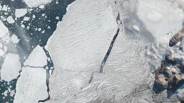 世界气象组织:今夏多地高温严重影响冰架与冰川