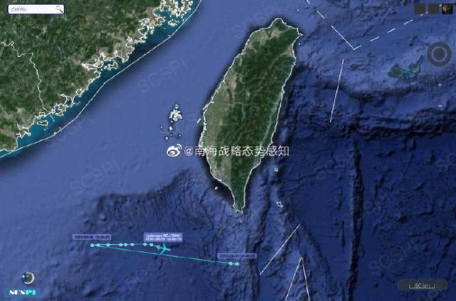 """图源:""""南海战略态势感知计划""""官方微博"""