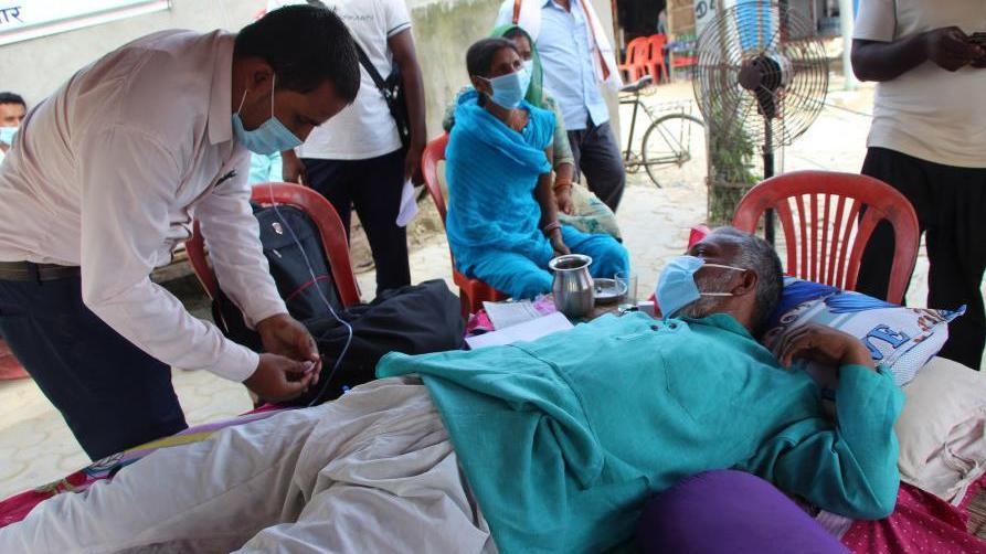 尼泊尔新增1228例新冠肺炎确诊病例 累计确诊42877