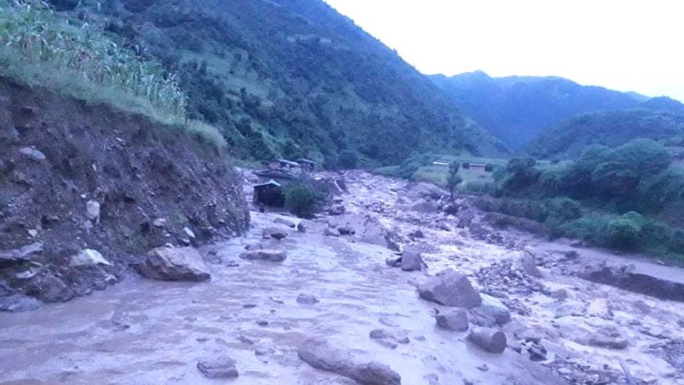 尼泊尔巴格隆县洪水和山体滑坡中遇难人数升至14人