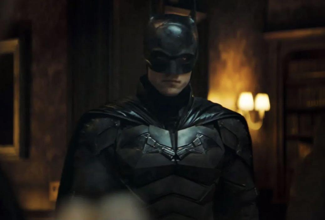 帕丁森饰演的蝙蝠侠 图源 美媒