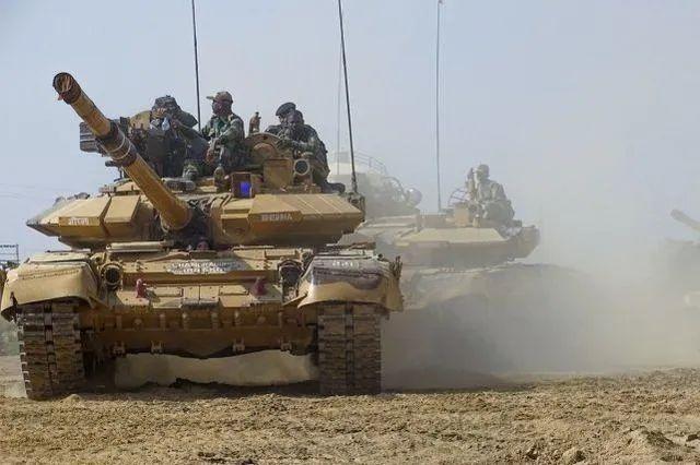 印军装备的主战坦克(资料图)