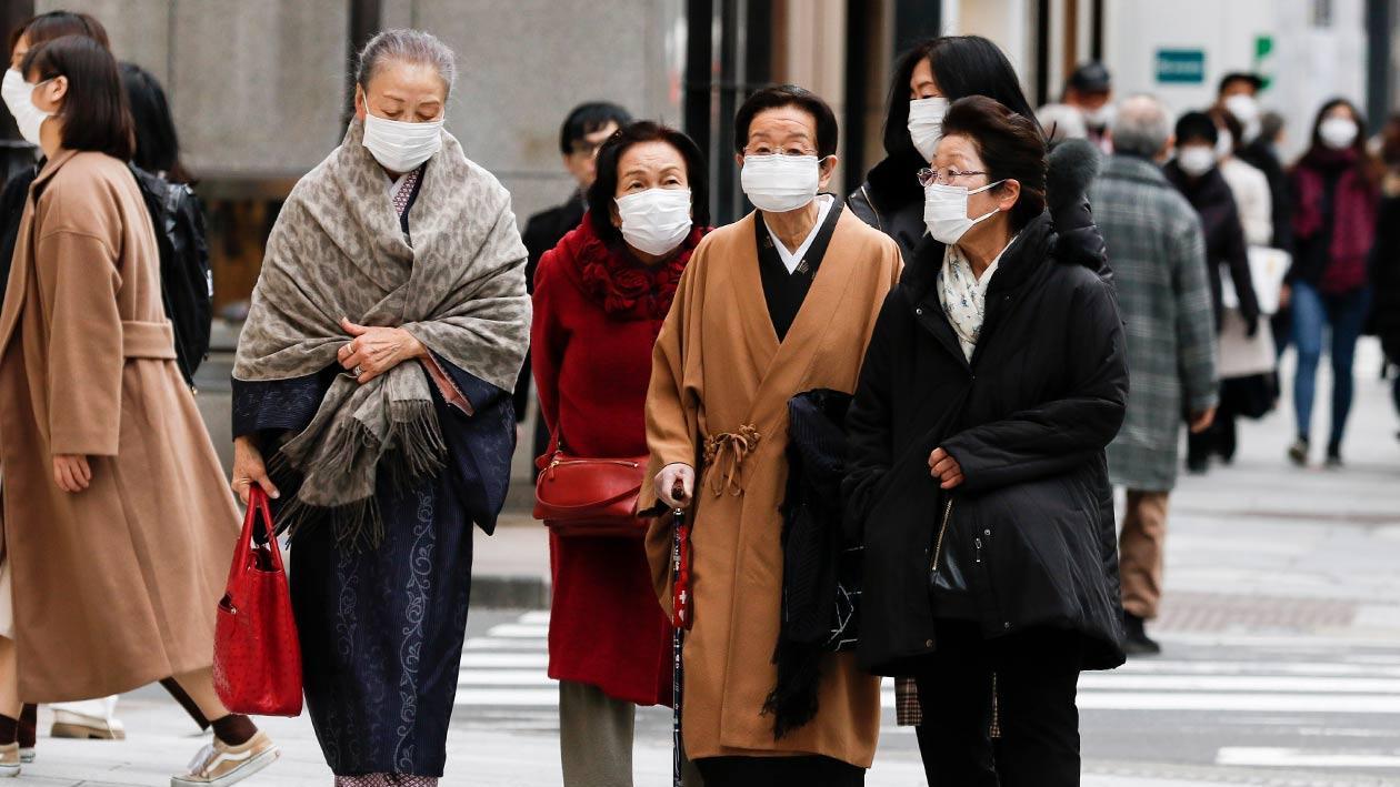 日本新增588例新冠肺炎确诊病例 累计确诊70994例
