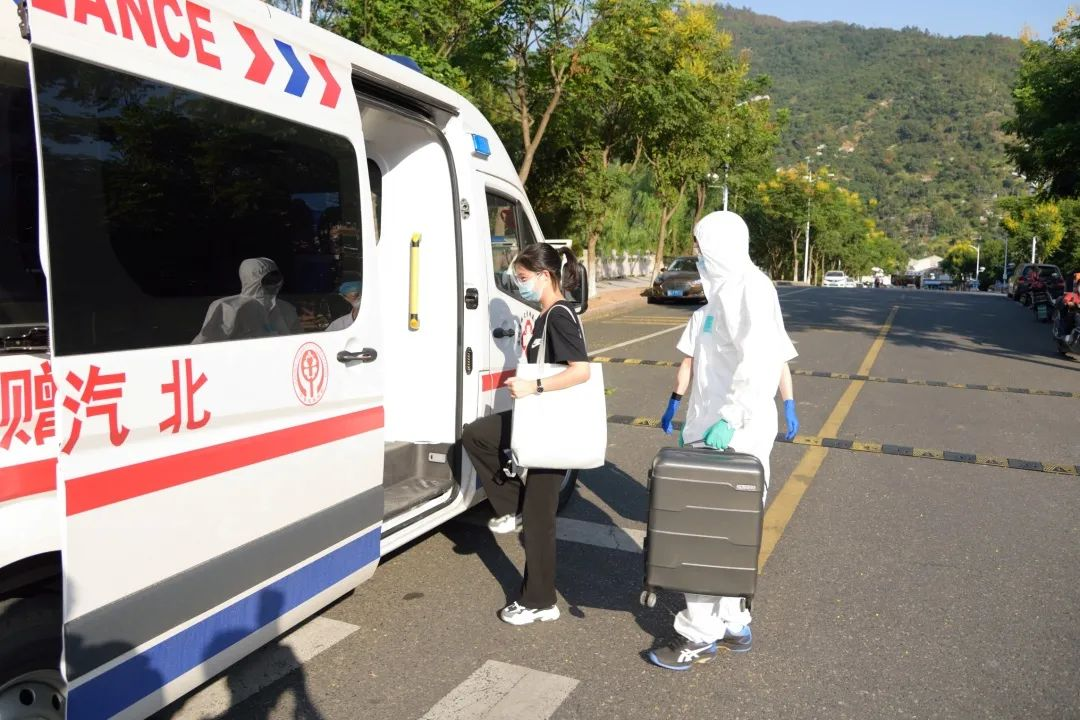 温州医科大学举行秋季开学疫情应急防控演练