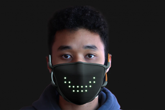 JabberMask LED口罩:还疫情以温暖的微笑