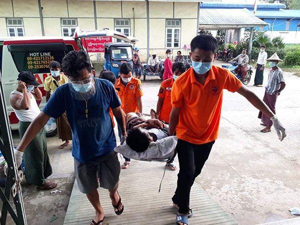 缅甸若开邦疫情之下持续发生冲突 多名平民伤亡