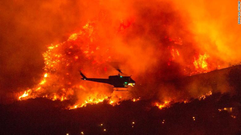 加州大火(图:美联社)