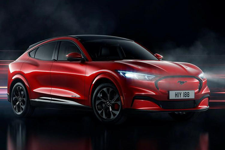 NEDC续航600公里 福特Mustang Mach-E北京车展首发