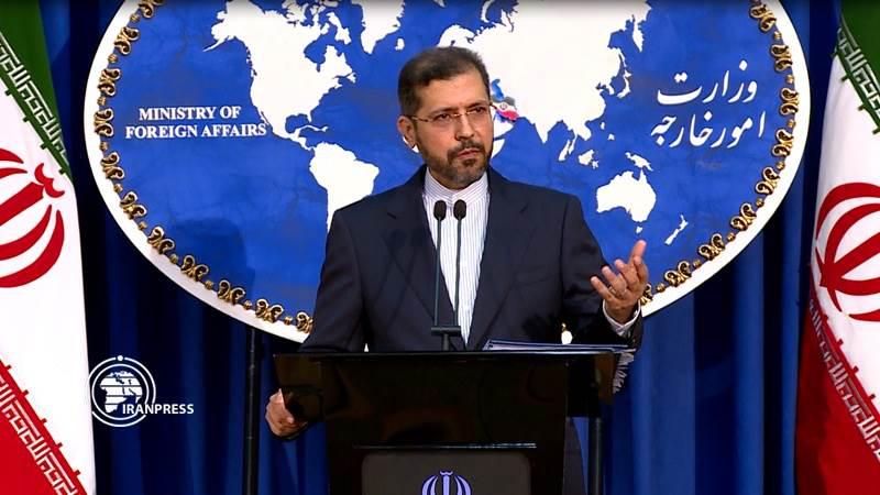 △伊外交部发言人哈蒂布扎德,图片来源Iran Press