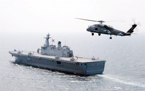 抗衡中日舰队?美媒:航母梦凸显韩国蓝水海军雄心