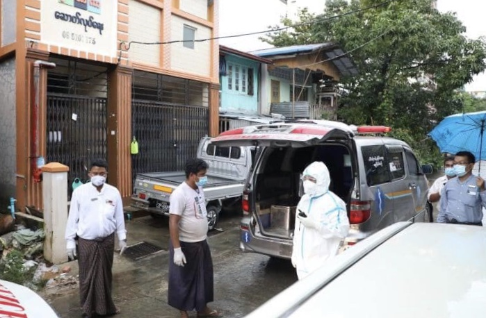 缅甸单日新增新冠肺炎确诊病例创最高纪录