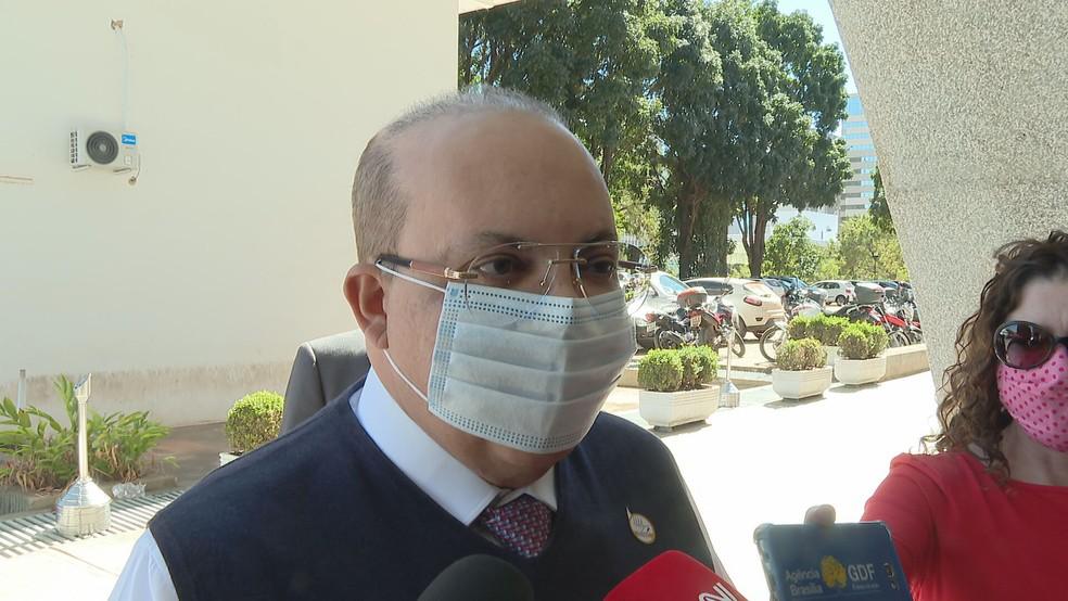 △巴西利亚联邦区区长伊巴内斯·罗查,来源:巴西媒体G1
