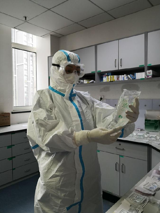 中国船舶集团 张琦:巾帼战疫 纤而有力图片