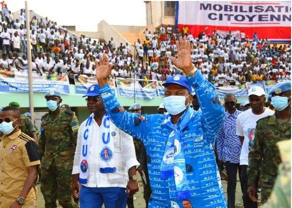 中非共和国总统选举第一轮投票初步结果公布