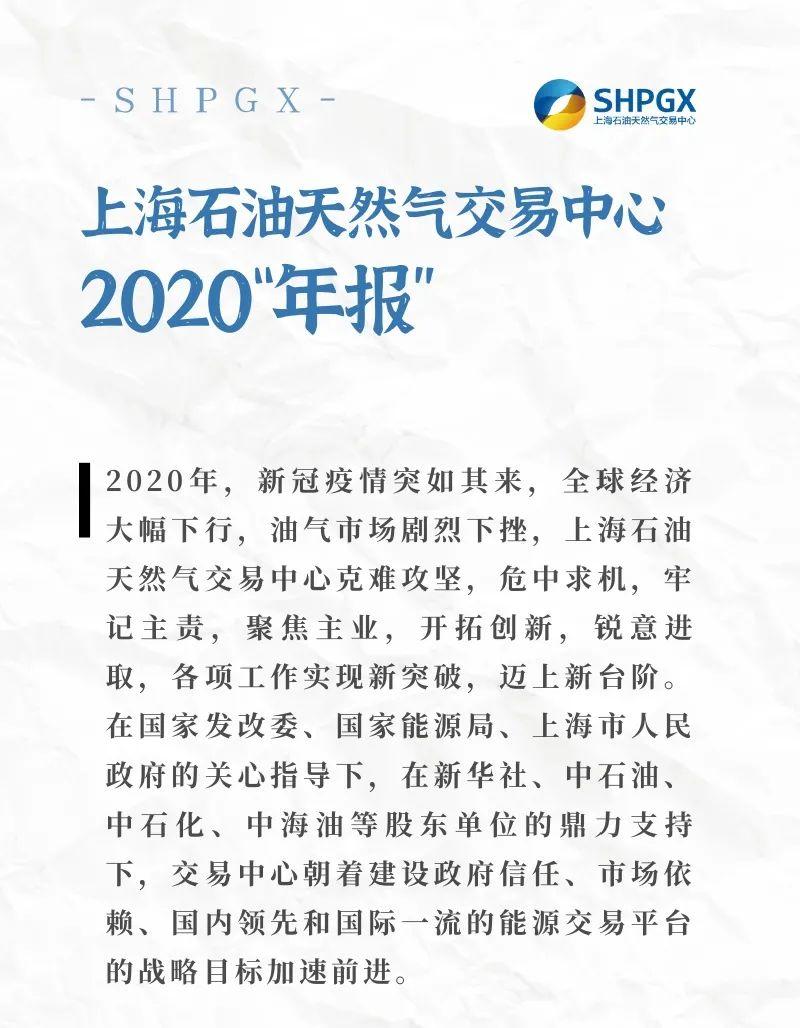 每一秒都是进行时!上海石油天然气交易中心的2020