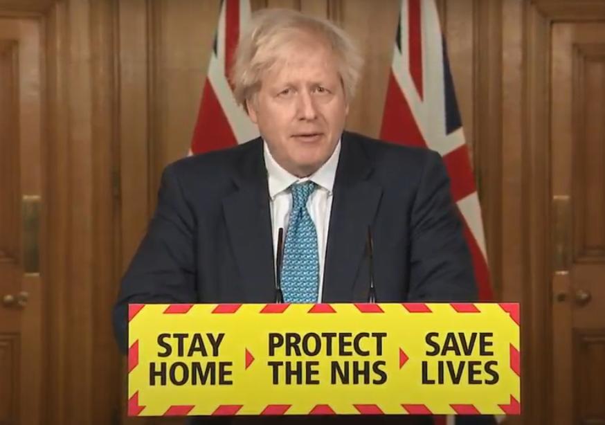 英国首相:政府将竭尽全力扩大疫苗接种范围