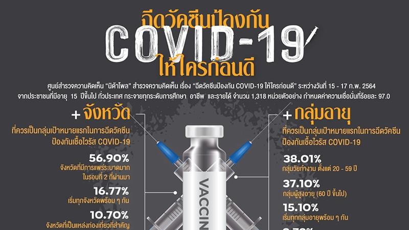 泰国:为在泰国的每个人提供新冠疫苗接种