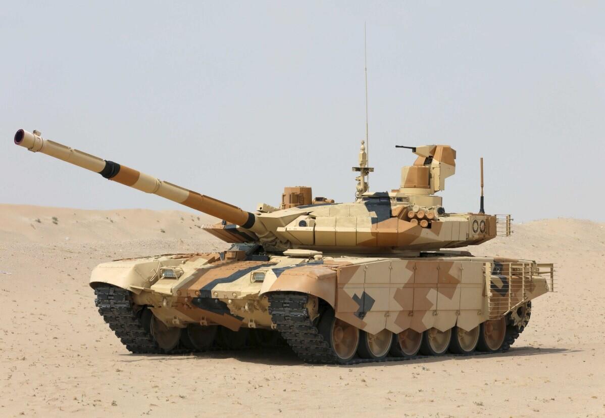 俄方:已收到大量外国客户采购T-90MS坦克请求