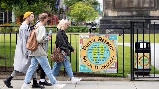 英国苏格兰地区放宽户外聚会规则