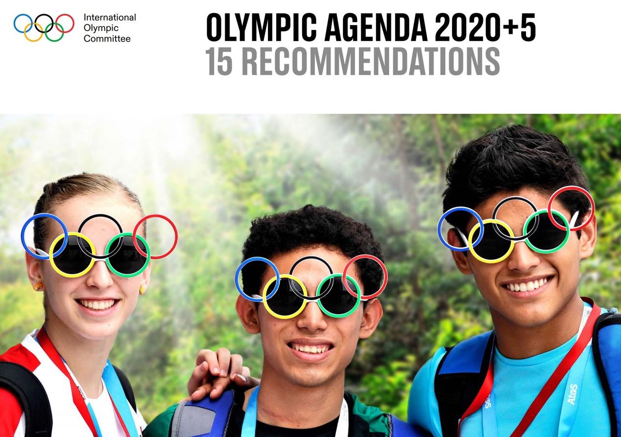 国际奥委会全会通过《奥林匹克2020+5议程》