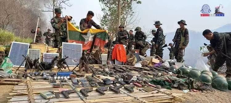 缅甸克伦民族武装攻占政府军帕本镇军营及阵地
