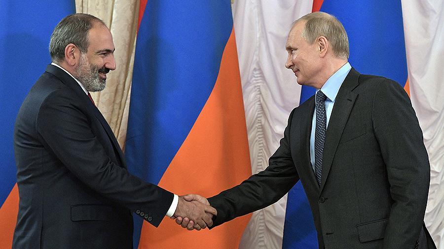 俄总统普京将与亚美尼亚总理帕希尼扬举行会谈