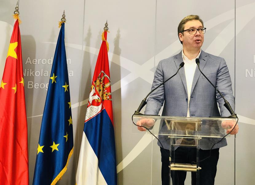 塞尔维亚总统武契奇或将接种中国新冠疫苗