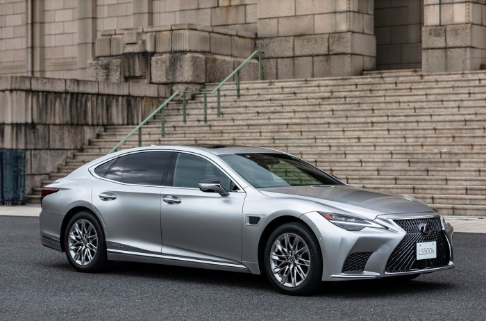 丰田全新自动驾驶技术将成为雷克萨斯2022款LS 500h全驱版标配