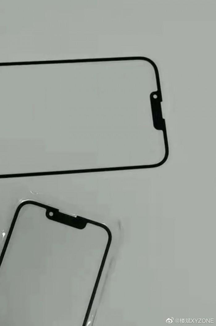 [图]iPhone 13前屏幕面板曝光:刘海区域进一步收窄