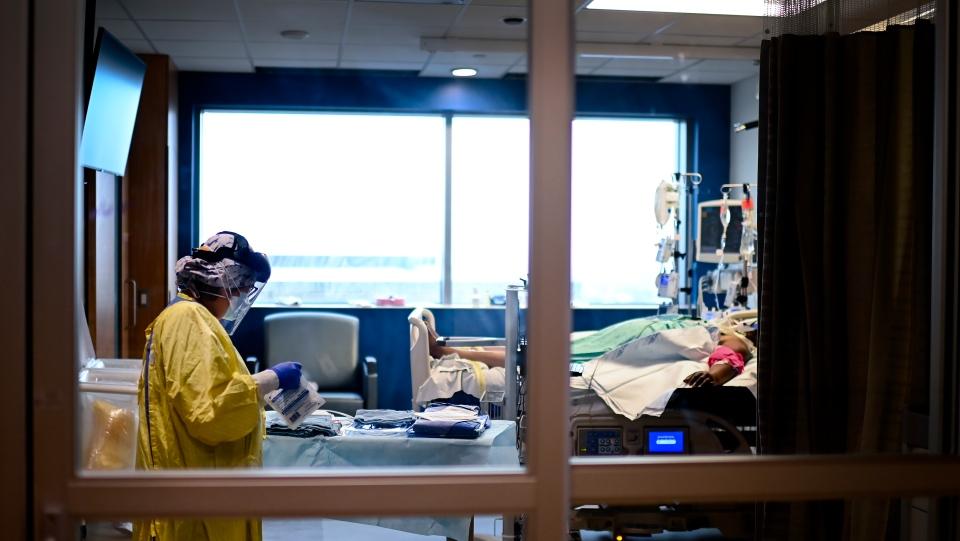 加拿大安大略省新冠病毒检测阳性率为近一年来最高