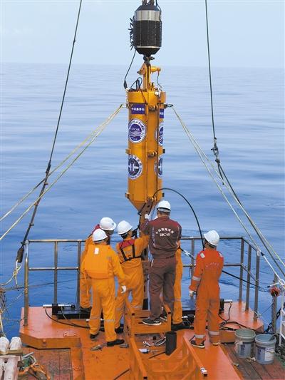 地质取样长度达15.83米 我国自研深海装备通过海试验收