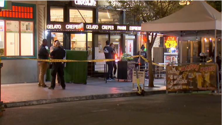 美国加州圣迭戈市发生两起枪击案 致1死4伤
