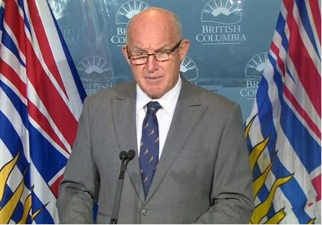 加拿大不列颠哥伦比亚省宣布跨区域限行措施