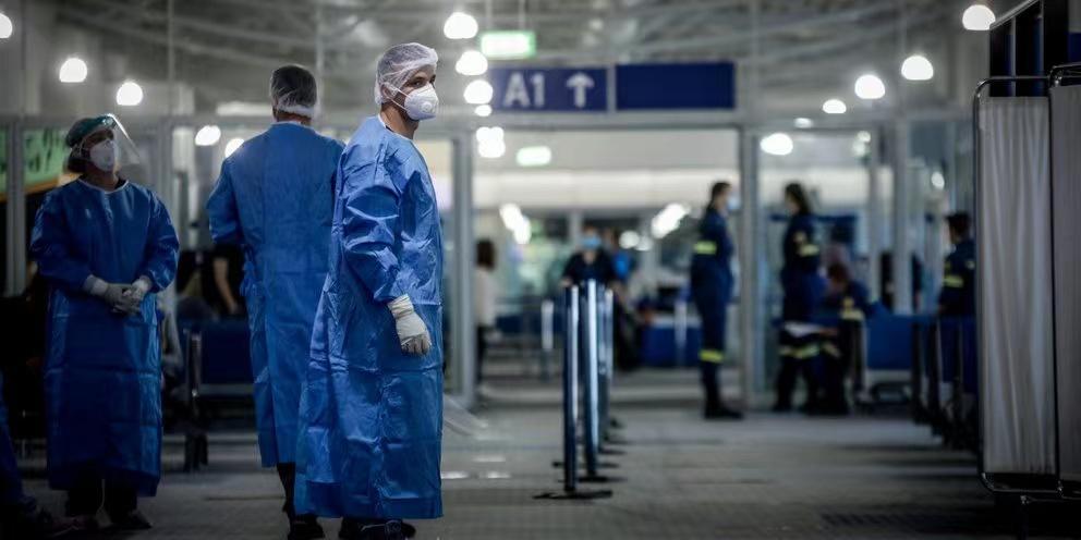 希腊出现第二例感染在印度发现的变异新冠病毒的病例