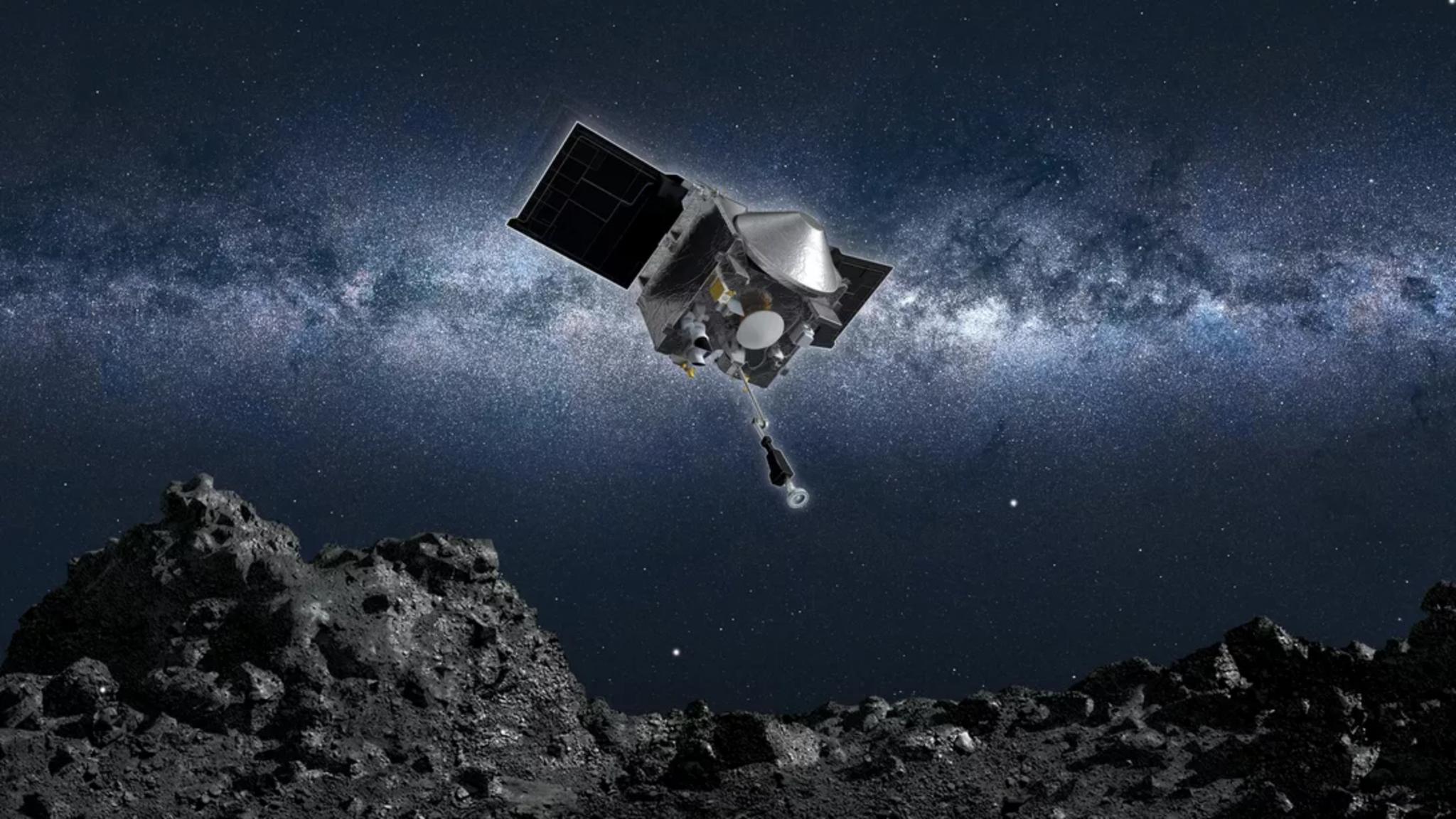 已获得小行星样本的NASA飞船Osiris-Rex今日开启返航之旅