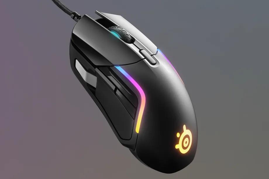 SteelSeries发布了经济型多功能游戏鼠标Rival 5 功能按钮非常丰富