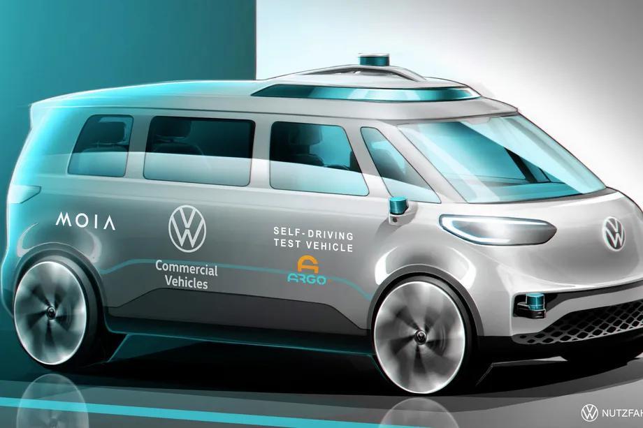 大众汽车将于今夏在德国开始测试基于Argo人工智能的自动驾驶面包车