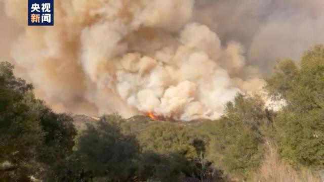 美国洛杉矶山火纵火嫌疑人被逮捕